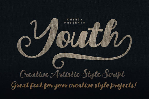 Youth Script & Handwritten Font By JumboDesign