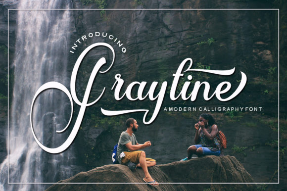 Print on Demand: Graytine Script Script & Handwritten Font By IM Studio