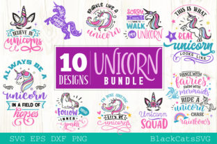 Print on Demand: The Unicorn Pack Graphic Crafts By BlackCatsMedia