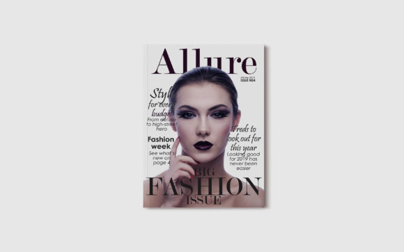 Print on Demand: 10 Fashion Magazine Template Covers Graphic Print Templates By denestudios - Image 13