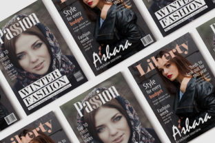 10 Fashion Magazine Template Covers Graphic By denestudios