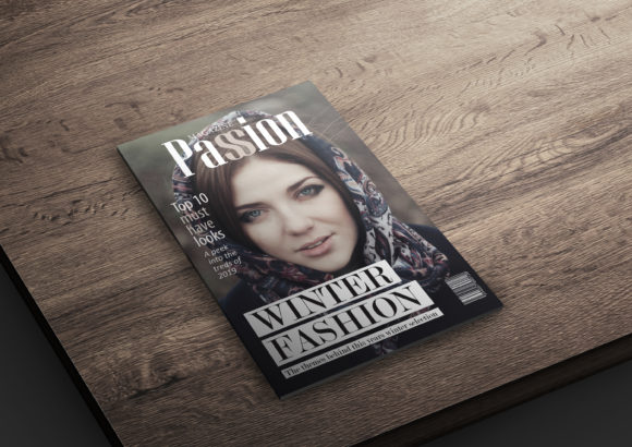Print on Demand: 10 Fashion Magazine Template Covers Graphic Print Templates By denestudios - Image 5