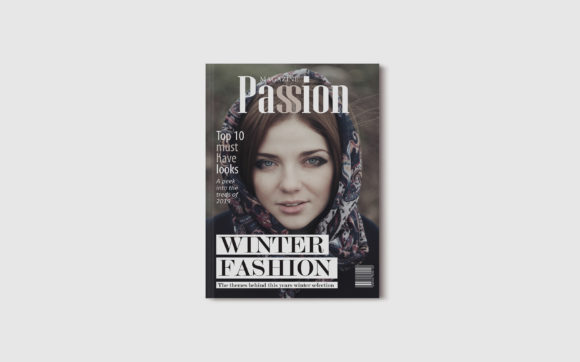 Print on Demand: 10 Fashion Magazine Template Covers Graphic Print Templates By denestudios - Image 8