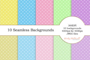 10 Seamless Star Backgrounds Graphic By Kristy Hatswell