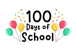 100 Days of School Craft Design By Creative Fabrica Crafts