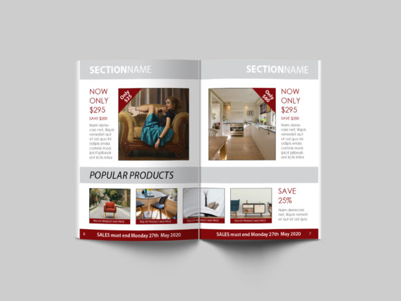 Print on Demand: 16 Page Sales Brochure Template Graphic Print Templates By denestudios - Image 4