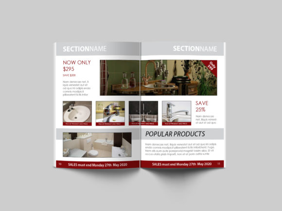 Print on Demand: 16 Page Sales Brochure Template Graphic Print Templates By denestudios - Image 6
