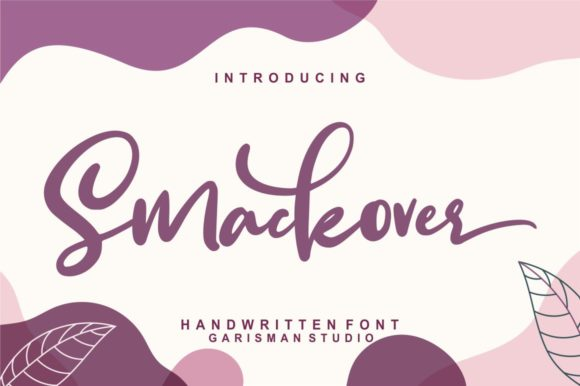 Print on Demand: Smackover Script & Handwritten Font By Garisman Studio - Image 1
