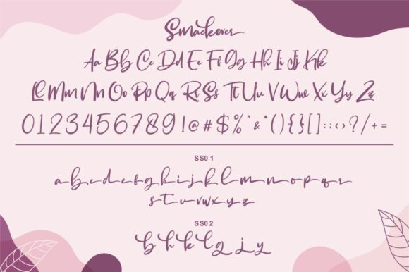 Print on Demand: Smackover Script & Handwritten Font By Garisman Studio - Image 8