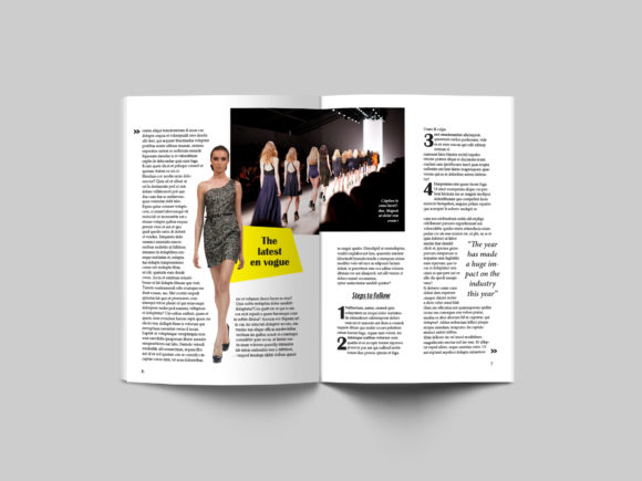 24 Page Fashion Magazine Template Graphic By denestudios Image 2