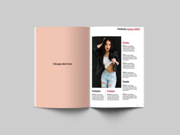 24 Page Fashion Magazine Template Graphic By denestudios Image 13