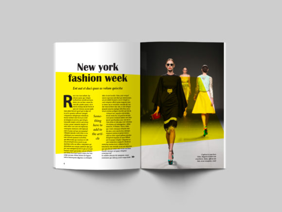 24 Page Fashion Magazine Template Graphic By denestudios Image 14