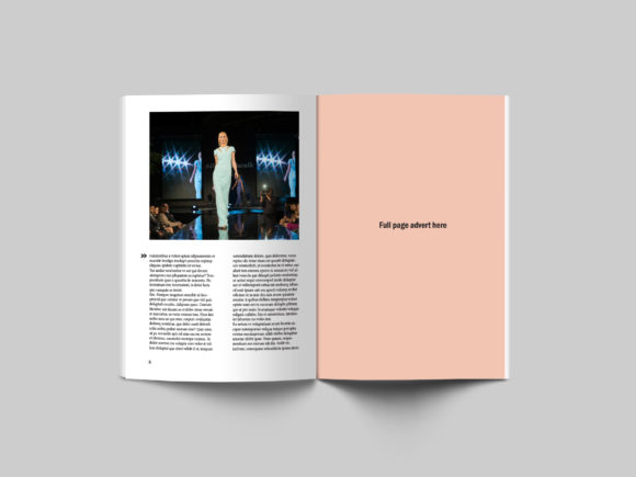 24 Page Fashion Magazine Template Graphic By denestudios Image 3