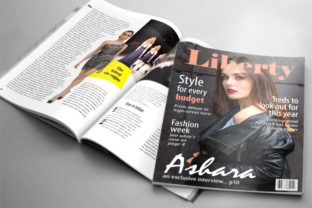 24 Page Fashion Magazine Template Graphic By denestudios