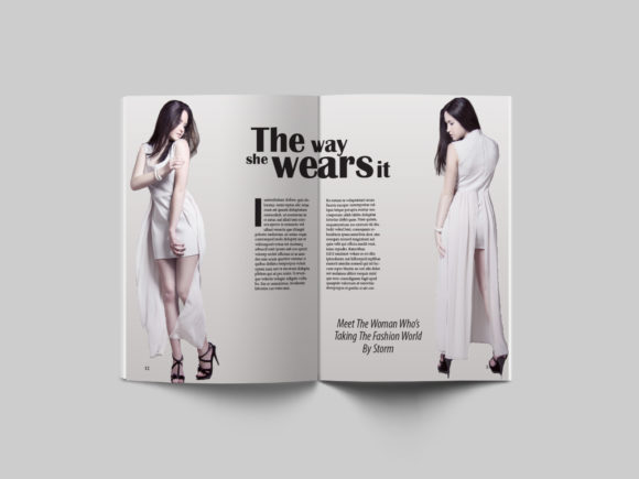 24 Page Fashion Magazine Template Graphic By denestudios Image 5