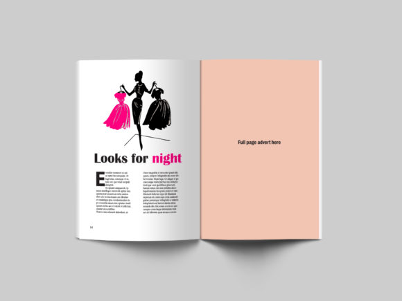 24 Page Fashion Magazine Template Graphic By denestudios Image 6