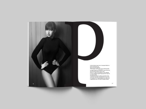 24 Page Fashion Magazine Template Graphic By denestudios Image 7