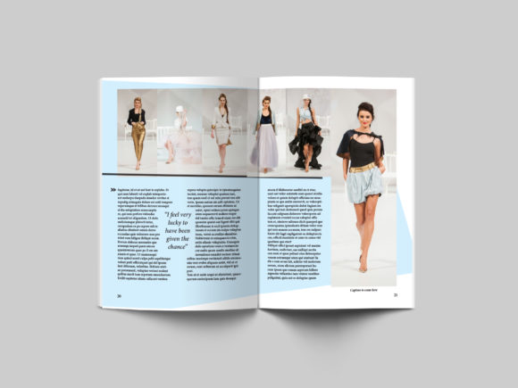 24 Page Fashion Magazine Template Graphic By denestudios Image 9