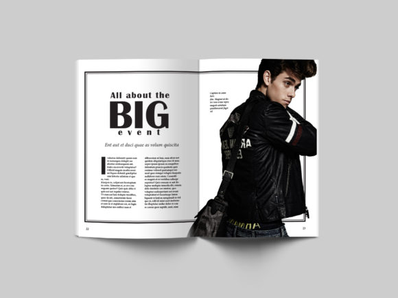 24 Page Fashion Magazine Template Graphic By denestudios Image 10