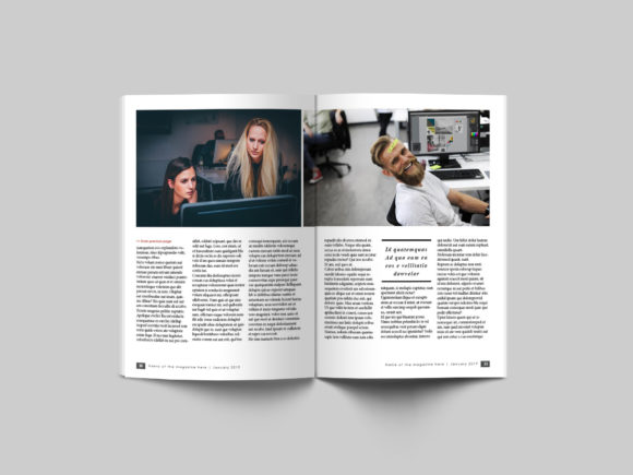 32 Page Business Magazine Template Graphic By denestudios Image 2