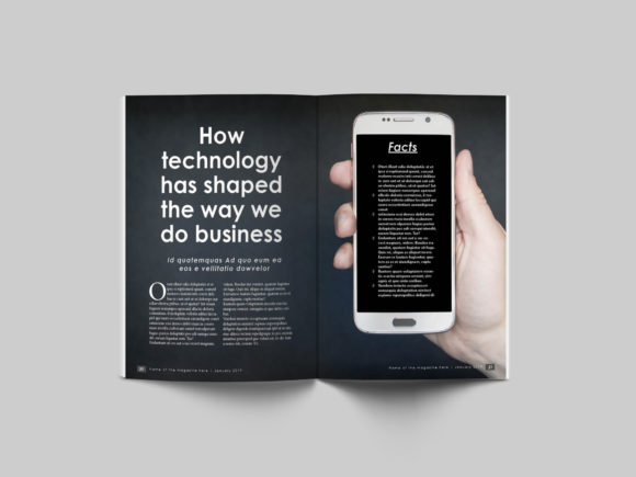 32 Page Business Magazine Template Graphic By denestudios Image 13
