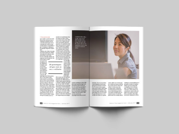 32 Page Business Magazine Template Graphic By denestudios Image 15