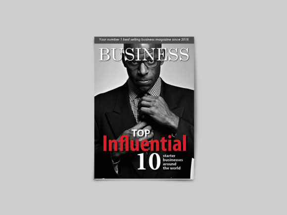 32 Page Business Magazine Template Graphic By denestudios Image 3