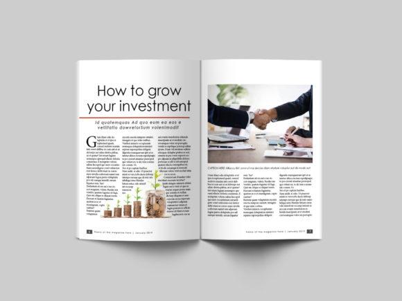 32 Page Business Magazine Template Graphic By denestudios Image 6