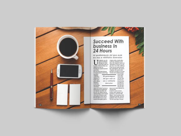 32 Page Business Magazine Template Graphic By denestudios Image 7