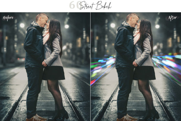 Download Free 60 Street Bokeh Lights Effect Overlays Grafik Von 3motional for Cricut Explore, Silhouette and other cutting machines.