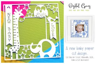 A New Baby Frame Design Graphic Crafts By Digital Gems