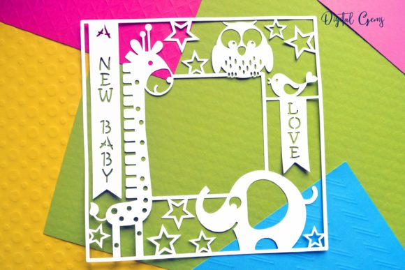 A New Baby Frame Design Graphic By Digital Gems Image 6