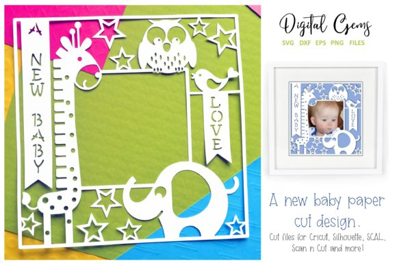 A New Baby Frame Design Graphic By Digital Gems