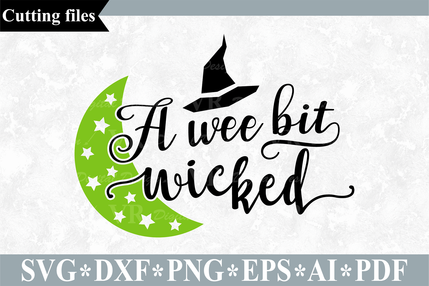 A Wee Bit Wicked Svg Halloween Cut File Graphic By Vr Digital