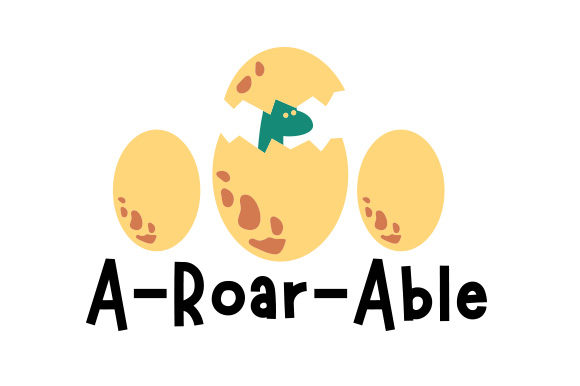 A-roar-able Dinosaurs Craft Cut File By Creative Fabrica Crafts - Image 1