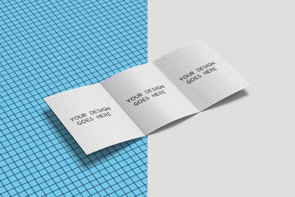 Download Free A4 Trifold Brochure Mockups Grafik Von Graphiccrew Creative for Cricut Explore, Silhouette and other cutting machines.