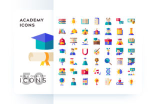 ACADEMY ICON Graphic By Goodware.Std