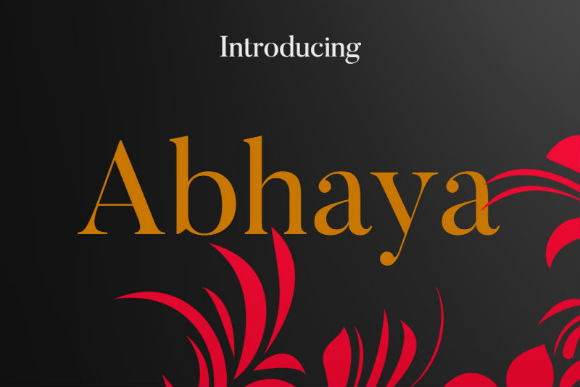 Print on Demand: Abhaya Script & Handwritten Font By bansxcute