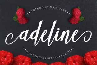 Adeline Font By Musafir LAB
