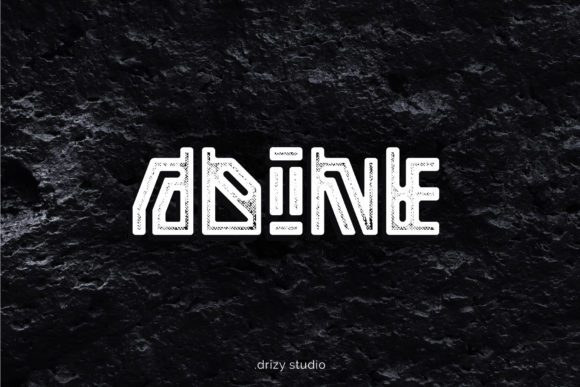 Print on Demand: Adine Display Font By sandrifaqih - Image 1