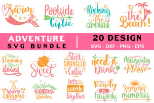 Adventure Quotes Bundle Graphic Crafts By SVGstore