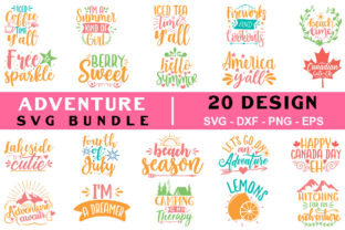 Adventure Bundle Graphic Crafts By SVGstore