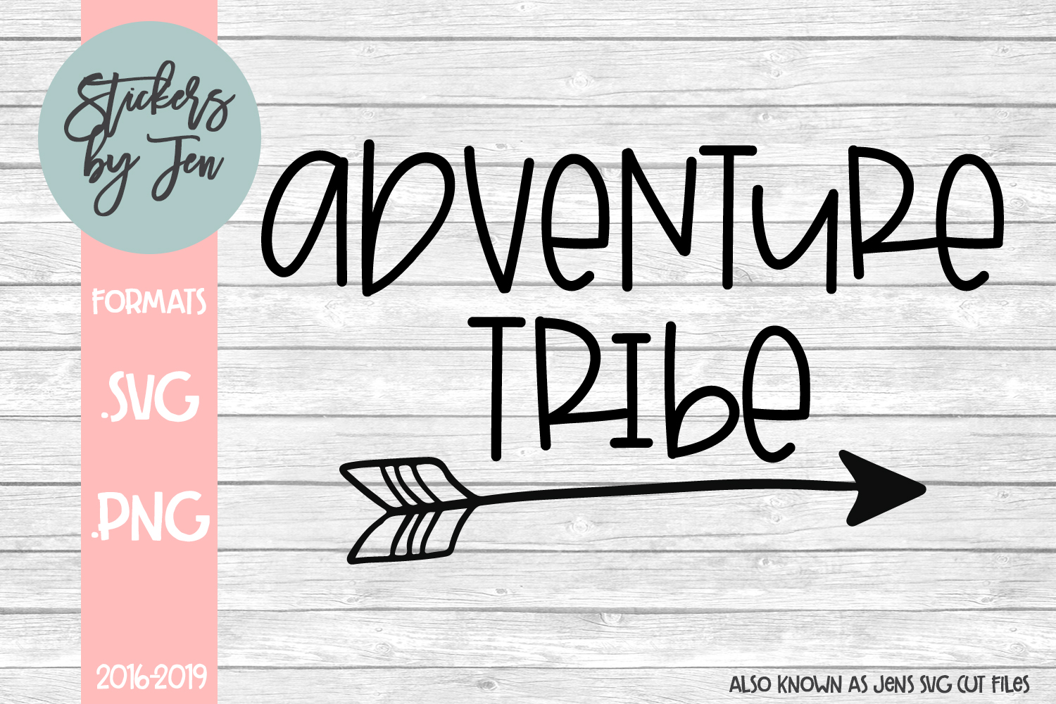 Download Free Adventure Tribe Graphic By Stickers By Jennifer Creative Fabrica for Cricut Explore, Silhouette and other cutting machines.