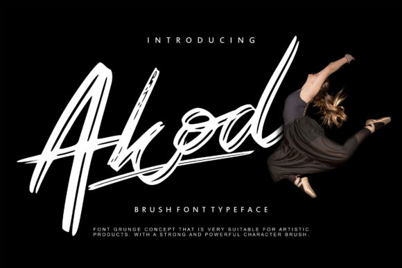 Print on Demand: Akod Script & Handwritten Font By Vunira