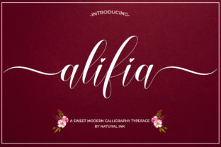 Alifia Font By Natural Ink
