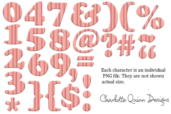 Download Free Alphabet Clipart Graphic By Digital Pattern Club Creative Fabrica for Cricut Explore, Silhouette and other cutting machines.