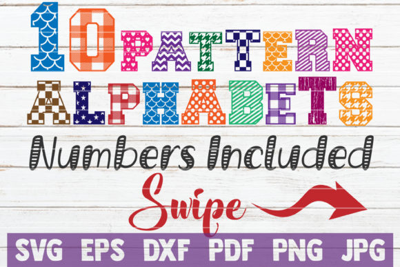 Alphabets SVG Bundle | Cut Files Graphic Graphic Templates By MintyMarshmallows