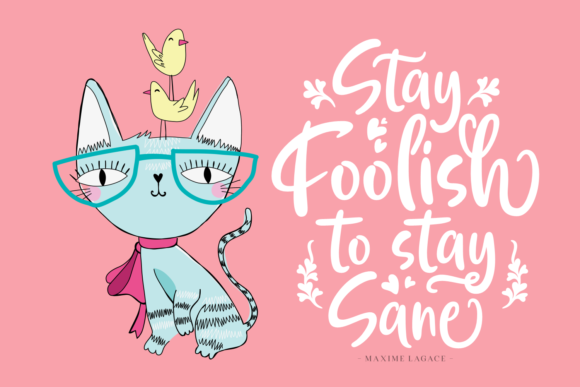 Print on Demand: Always Having Fun Script & Handwritten Font By Situjuh - Image 2