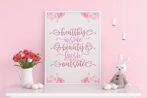 Print on Demand: Amazing Mother Script & Handwritten Font By Situjuh - Image 6