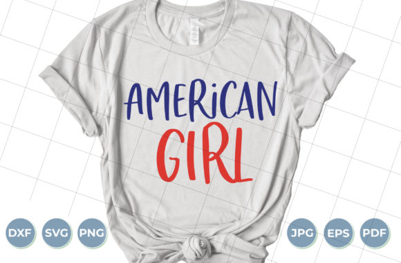 American Girl Graphic Crafts By luxedesignartetsy